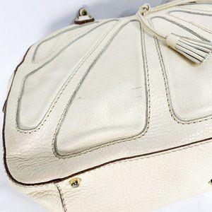 Anya Hindmarch Bags - ANYA HINDMARCH Pebbled White Leather Bag